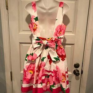 Abercrombie & Fitch Dresses - Abercrombie & Fitch Sz 10 Floral Dress Open Back